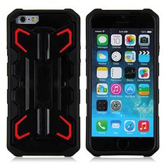 iPhone 6 Case, Eagle Series by Guardiant - [Kickstand Feature] [Red] - Perfect For Netflix, FaceTime, Movies, TV, Video - 4.7 Inch Rugged Dual Layer Armored Case for your Apple Phone - Popular For Men & Guys - Slim Custom Fit - Latest Stylish Design - Protect Your Investment Guardiant http://www.amazon.com/dp/B00UR5KNV4/ref=cm_sw_r_pi_dp_abCkwb0GEHCGD