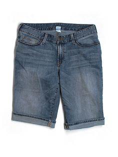 Check it out—Eddie Bauer Denim Shorts for $11.99 at thredUP!