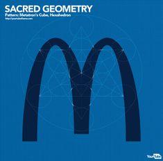 Sacred Geometry in popular corporate logo Fractal Geometry, Sacred Geometry, Leonardo Fibonacci, Golden Ratio In Design, Divine Proportion, Spirit Science, Illustrator Tutorials, Creative Logo, Color Theory