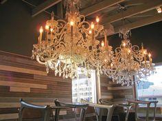 chandeliers:)