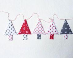Moña de adornos de Navidad adornos navideños adornos por FromJeanne