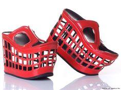 Kobi Levi - shopping cart shoes