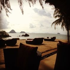 Last light at Phuly Bay - a Ritz-Carlton Reserve, Krabi province, Thailand