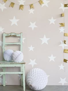 NEW! Stars wallpaper by Hibou Home