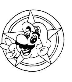 Ponle el bigote a Mario Bros