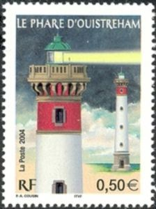 The lighthouse of Ouistreham