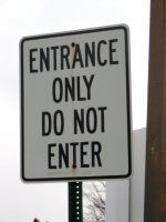 Where's the exit?