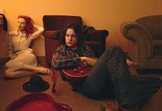 Karen Elson & Jack White by Annie Leibovitz