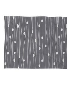 Take a look at this Gray Entangled Fleece Throw Blanket by DENY Designs on #zulily today!