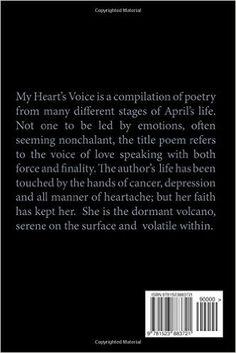 Amazon.com: My Heart's Voice (9781523883721): April Nicole Pou: Books