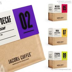Design Award Packaging Design   Jacobs Coffee by Angela Spindler