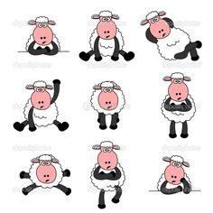cute sheep illustration - Google Search