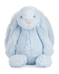 Plush Bashful Bunny Chime Stuffed Animal, Blue - Jellycat