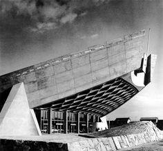 Kenzo Tange, Kagawa Prefectural Gymnasium, Kagawa, Japan, 1962.