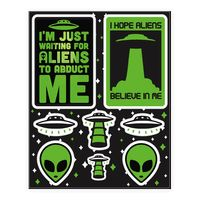 Alien Sticker