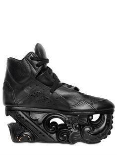 KTZ Black Calf Wood Sculptured sneakers - trainers - kicks - footwear - shoes  Shoes 2015 4d899801a