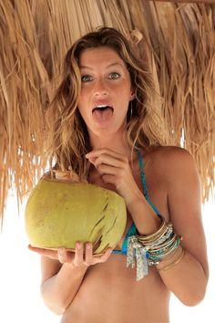 Gisele Bundchen (Gisele Bundchen) dans la publicité maillots de bain Calzedonia (été 2009) Photo 10