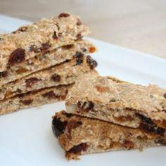 Volkoren speltkoekjes met rozijnen en noten (suikervrij)