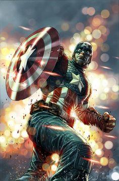 Captain America by Lee Bermejo