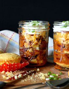 There's nothing like some good ol' comfort food, and this hearty combo is just that. Dole out batches in Mason jars for easy on-the-go eating. Get the recipe at Nest of Posies.   - CountryLiving.com