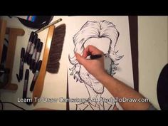 Caricature Drawing Tutorial - Learn To Draw Caricature Faces Body People...