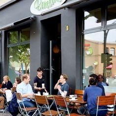Barcomi's Berlin :: Kaffeerösterei Außenbereich
