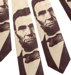 abe lincoln tie $28