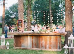 Louisiana backyard wedding - photo by Cassidy Carson Photography http://ruffledblog.com/louisiana-backyard-wedding