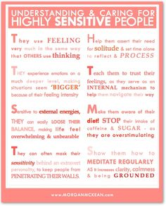 If there is someone in your life who's a little more sensitive, including YOU, here are some ways to understand & care for them! hsp/infp