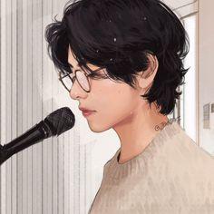 Bts Taehyung, Namjoon, Taehyung Fanart, Vkook Fanart, Bts Photo, Foto Bts, Twitter Bts, Bts Aesthetic Pictures, Bts Drawings