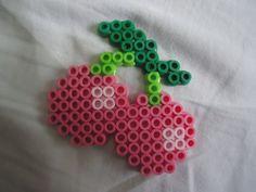 Cherries perler bead by *PerlerHime on deviantART