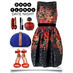 Date Night Dark Florals