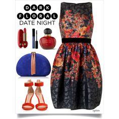 Date Night Dark Florals