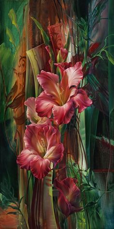 Paintings by Vie Dunn-Harr | Ditulis Oleh : seni rupa | Title: 29 Gambar Lukisan Bunga