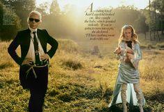 K.Lagerfeld in Wonderland