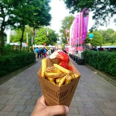 This party is over for today. Let's get some fries for the road! #TNWEurope #Fries #snack #grizzl #thenextweb #Amsterdam #CityguysNL