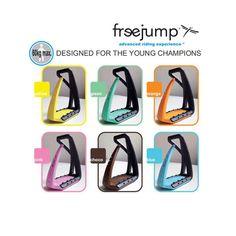 Fair Price Equestrian | Freejump Soft Up Pro Lite Stirrups