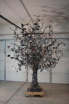 Tree Sculpture – John Lovely Metal Art