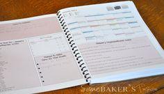 Some Baker's Twine: Make A Plan(ner) Mielenkiintoinen. Tästä vois ottaa ideoita omaan, etenkin kuukausinäkymään.