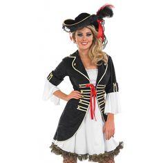 Women's Buccaneer Girl Pirate Fancy Dress Costume 3344 £28.95
