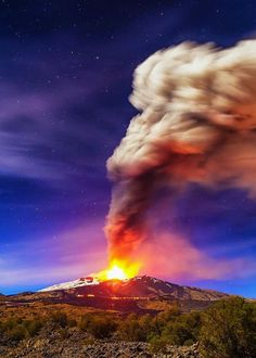 North Sumatra Active Volcano Indonesia