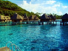 A small tropical island in French Polynesia, Moorea is neighbor to the island of Tahiti, and the island of Bora Bora is also nearby. Romantic Moorea is a popular honeymoon destination, known for its exquisite scenery, excellent snorkeling and diving, and enchanting rain forests.