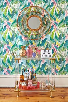 House Party: Bar Cart Styling