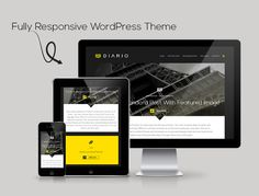 When Less Is More: Introducing Diario – A Bold & Minimalist Responsive WordPress Theme