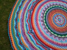 Rings Of Change Throw By Frank O'Randle - Purchased Crochet Pattern - (ravelry)