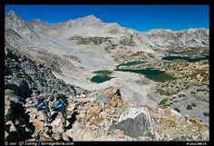 Saddlebag Lakes, John Muir Wilderness. California