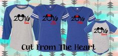 2016 Disney Trip Family Matching Shirts ~ Personalized With Monogram OR Names ~ Mickey & Minnie Mouse by CutFromTheHeart on Etsy https://www.etsy.com/listing/262757099/2016-disney-trip-family-matching-shirts