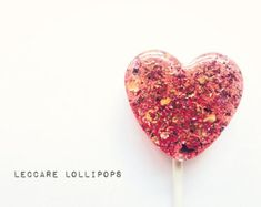 3 Rose and Honey Lollipops // Hard Candy // Unique Wedding Favors // Custom Labels