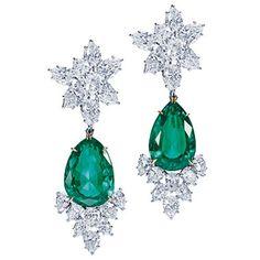e693f1e2fd2dd7 Gems and Jewelry Lovers: Harry Winston Jewelry Harry Winston, Emerald  Diamond, Diamond Drop