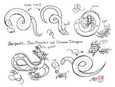 Image result for chinese dragon drawing